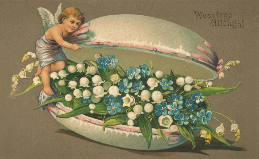 Wesołego Alleluja! - Krata pocztowa