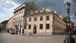 Budynek Archiwum przy ul. Siennej 16