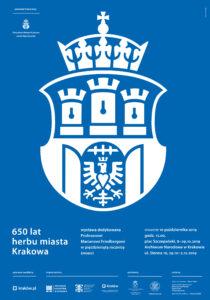 plakat -herb miasta Krakowa