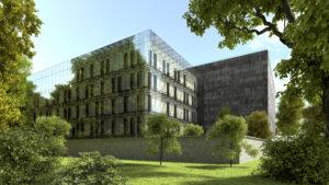 nowy budynek Archiwum