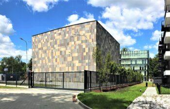 Nowy budynek archiwum -elewcja