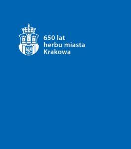 "okładka katalogu ""650 lecie herbu miasta Krakowa"""