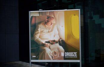 """Wystawa plenerowa """"W drodze. Karol Wojtyła/Jan Paweł II (1920-2005)"""""""