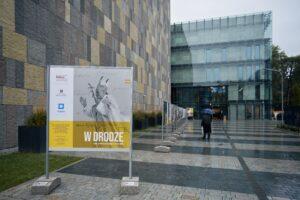 """Wystawa """"W drodze. Karol Wojtyła/Jan Paweł II (1920-2005) (fot. Rafał Górski)"""