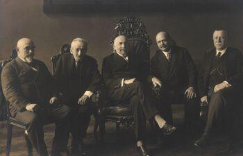Portret zbiorowy 5 mężczyzn